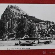 Postales: P-1184. VISTA DEL PEÑON DE GIBRALTAR. AÑOS 40. SIN CIRCULAR. . Lote 49301292