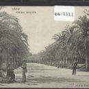 Postales: CADIZ - PARQUE GENOVES - HAUSER Y MENET - (ZB-2121). Lote 49401124