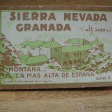 Postales: SIERRA NEVADA - BLOC DE 20 POSTALES - ROISIN. Lote 49453170