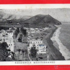 Postales: ALMUÑECAR. RESIDENCIA MEDITERRANEO. Lote 49457236