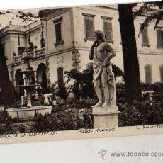 Postales: LA LÍNEA DE LA CONCEPCIÓN Nº 205 PALACIO MUNICIPAL L. ROISIN-FOTO SIN CIRCULAR POSTAL FOTOGRÁFICA. Lote 49613213