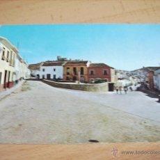 Postales: TEBA ( MALAGA ) PLAZA ESPAÑA Y CALLE GENERAL FRANCO. Lote 49788408