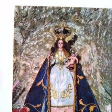 Postales: POSTAL MIJAS - NUESTRA SEÑORA LA VIRGEN DE LA PEÑA - CIRCA 1970. SIN CIRCULAR. Lote 49862408