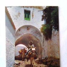 Postales: POSTAL MIJAS - CALLEJON TIPICO Y BURROS TAXI - CIRCA 1970. SIN CIRCULAR. Lote 49862556