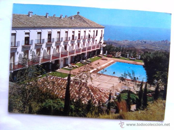 POSTAL MIJAS - HOTEL MIJAS - CIRCA 1970. SIN CIRCULAR. (Postales - España - Andalucia Moderna (desde 1.940))