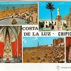 Postales: POSTAL DE LA COSTA DE LA LUZ CHIPIONA BONITAS VISTAS VER FOTOS QUE NO TE FALTE EN TU COLECCION. Lote 49950331