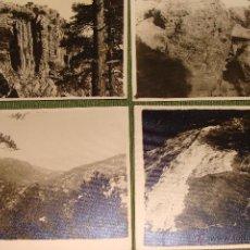 Postales: LOTE 6 POSTALES FOTOGRAFICAS DE CAZORLA. SELLO FOTÓGRAFO HENARES. RARAS.. Lote 50023714