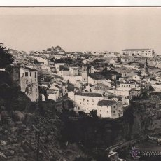 Postales: ANTIGUA POSTAL DE RONDA ( MÁLAGA ). BARRIO DE SAN MIGUEL. CIRCULADA. Lote 50134650