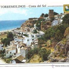 Postales: TORREMOLINOS - MALAGA - EL BAJONDILLO. Lote 50198931