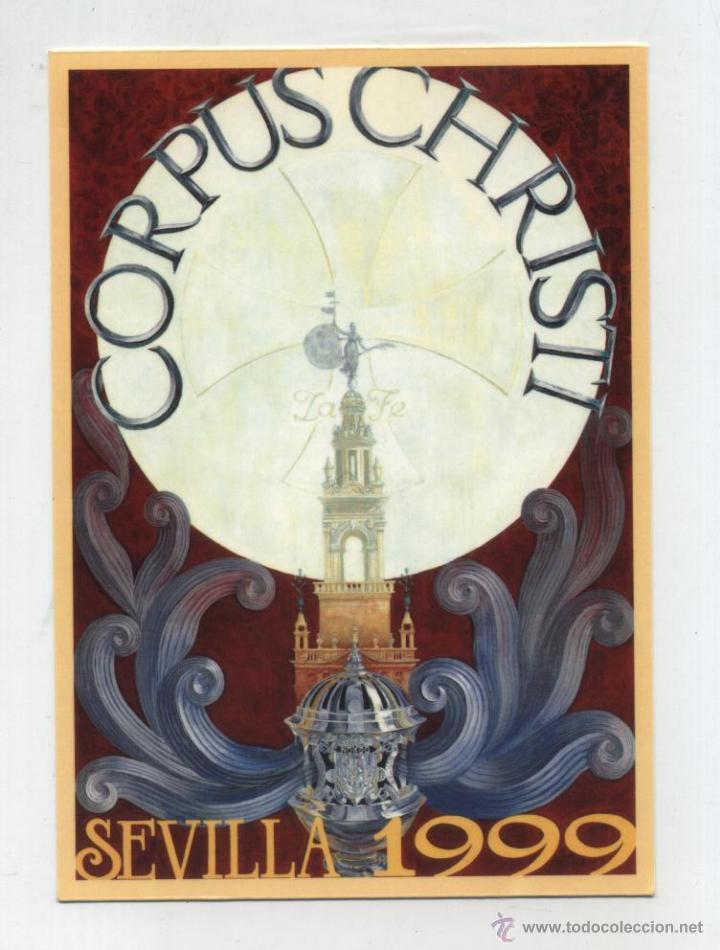 SEVILLA.- CORPUS CHRISTI 1999. (Postales - España - Andalucia Moderna (desde 1.940))