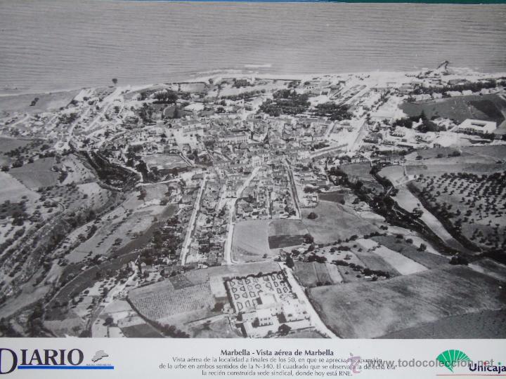 Foto l mina facs mil m laga marbella vista a comprar postales antiguas de andaluc a en - Fotografia aerea malaga ...