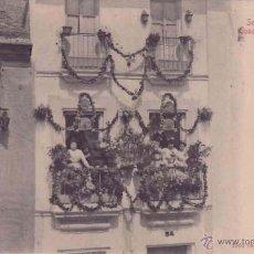Postales: TRIANA (SEVILLA), STENGEL & CO, Nº 22325 CONCURSO DE BALCONES. Lote 50691408