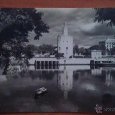 Postales: POSTAL ANTIGUA TORRE DEL ORO, SEVILLA. Lote 50719238