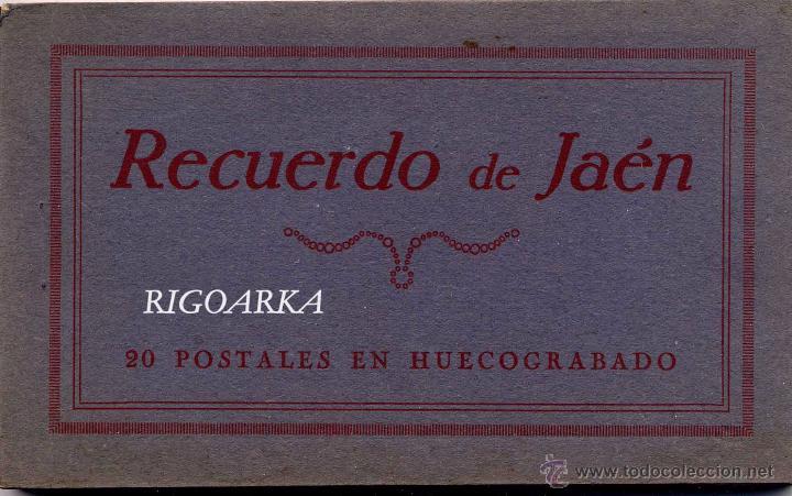RECUERDO DE JAÉN- 20 POSTALES COMPLETO (Postales - España - Andalucía Antigua (hasta 1939))