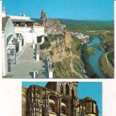 Postales: ARCOS DE LA FRONTERA. MIRADOR PARROQUIA SANTA MARÍA. SIN CIRCULAR.. Lote 50932017