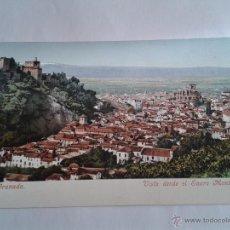 Postales: POSTAL DE GRANADA VISTA DESDE EL SACRO MONTE PURGER&CO. MUNCHEN 2083. Lote 51027194
