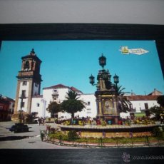 Postales: POSTAL DE ALGECIRAS ( CADIZ ) PLAZA GENERAL FRANCO - SIN CIRCULAR -. Lote 51034348