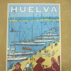 Postales: POSTAL HUELVA - PATRONATO DE TURISMO DE HUELVA - 1998 - PUERTOS DEPORTIVOS. Lote 51205551