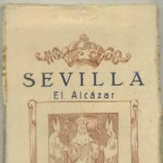 Postales: POSTALES ANTIGUAS DE SEVILLA. BLOC DE 20 VISTAS DEL ALCAZAR P-BLOC-160,2. Lote 51419303