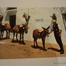 Postales: COSTA DEL SOL MIJAS BURROS TAXI. Lote 51457727