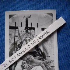 Postales: SEMANA SANTA SEVILLA - POSTAL MINI - 9X6.5 CM. NTRA SRA DE LA PIEDAD - HDAD DEL BARATILLO. Lote 51546456