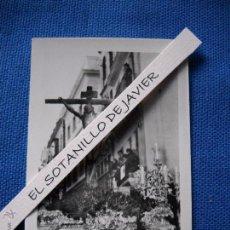 Postales: SEMANA SANTA SEVILLA - POSTAL MINI - 9X6.5 CM. CRISTO DE LA EXPIRACION - HDAD DEL CACHORRO. Lote 51546730