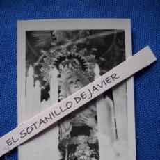 Postales: SEMANA SANTA SEVILLA - POSTAL MINI - 9X6.5 CM. NTRA SRA DE MAYOR DOLOR EN SU SOLEDAD - CARRETERIA. Lote 51546759