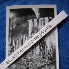 Postales: SEMANA SANTA SEVILLA - POSTAL MINI - 9X6.5 CM. NTRA SRA DE LA SOLEDAD DE SAN LORENZO. Lote 51546790