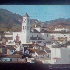 Postales: MARBELLA SIERRA BLANCA POSTAL CIRCULADA ED COSTA SOL Nº 1316 *B48 MANCHADA SOBADA . Lote 51548830