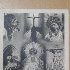 Postales: ANTIGUA TARJETA POSTAL SEMANA SANTA SEVILLA TRIANA. Lote 51583745