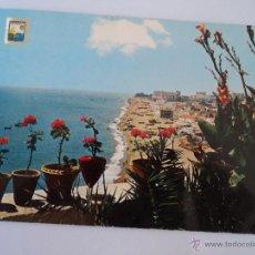 Postales: TORREMOLINOS PLAYA DE LA CARIHUELA. Lote 51603132