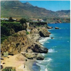 Postales: MALAGA - NERJA - PLAYA DE CALAHONDA. Lote 51777038