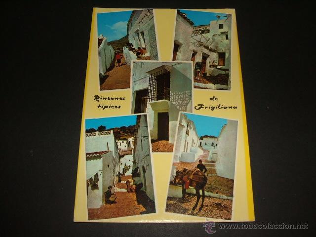 FRIGILIANA MALAGA RINCONES TIPICOS (Postales - España - Andalucia Moderna (desde 1.940))
