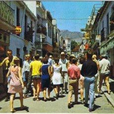 Postais: MALAGA - TORREMOLINOS - CALLE SAN MIGUEL - CIRCULADA. Lote 51806346