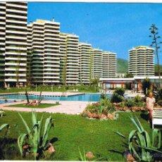 Postais: MALAGA - TORREMOLINOS - CONJUNTO HOTELERO PLAYAMAR - CIRCULADA. Lote 51807464