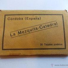 Postales: ANTIGUAS 20 TARJETAS POSTALES DE CÓRDOBA. Lote 52137282