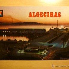 Postales: ALGECIRAS - CADIZ - VISTA NOCTURNA DEL PUERTO - 184 SUBIRATS CASANOVAS. Lote 52298194