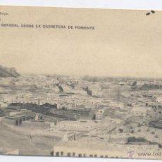 Postales: ALMERIA- VISTA GENERAL DESDE LA CARRETERA DE PONIENTE. Lote 52321774