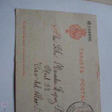Postales: TARJETA POSTAL PREFRENQUEADA Y CIRCULADA DE 1911. Lote 49167657