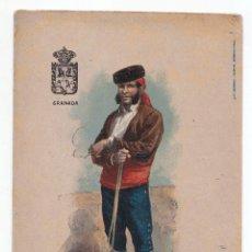 Postales: POSTAL DE UN TRAJE TÍPICO DE GRANADA. RIPOLLES Y FERRERES. MORELLA. CASTELLÓN. . Lote 52625868
