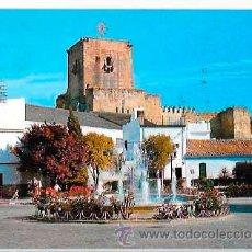 Postales: SEVILLA UTRERA PLAZA DE SANTA ANA Y CASTILLO. ED. SAN-PI. CIRCULADA. Lote 52655241