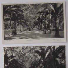 Postales: DOS POSTALES FOTOGRAFICAS DE MALAGA. Lote 52663222