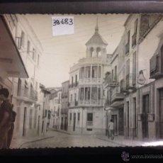 Postales: VILLANUEVA DEL ARZOBISPO - 8 - CALLE CANALEJAS - FOT· CALVO · ED· DONAIRE - (38683). Lote 127268036