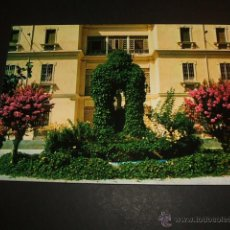 Postales: GRANADA CASA MADRE MISIONERAS DEL SANTISIMO SACRAMENTO JARDINES. Lote 52836005