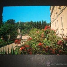 Postales: GRANADA CASA MADRE MISIONERAS DEL SANTISIMO SACRAMENTO JARDINES. Lote 52836068