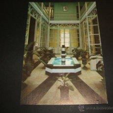 Postales: GRANADA CASA MADRE MISIONERAS DEL SANTISIMO SACRAMENTO PATIO CENTRAL. Lote 52836096