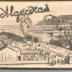 Postales: ALGECIRAS - LIBRITO DE 10 POSTALES PEQUEÑAS - NO APARECE EDITOR - MEDIDAS 9 X 4.5. Lote 52838674
