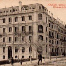Postales: POSTAL DE MALAGA-EDIFICIO DE LA DIRECCION Y OFICINAS DE LOS F.C.ANDALUCES. Lote 52925563