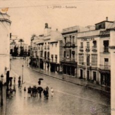Postales: JEREZ DE LA FRONTERA, LANCERIA,EDICION GUILLERMO UHL,NUM.5. Lote 52934322