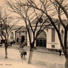 Postales: JEREZ DE LA FRONTERA, MERCADO, EDICION GUILLERMO UHL,NUM.5. Lote 52934687